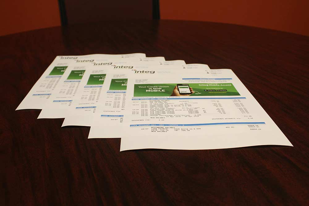 Financial Printing