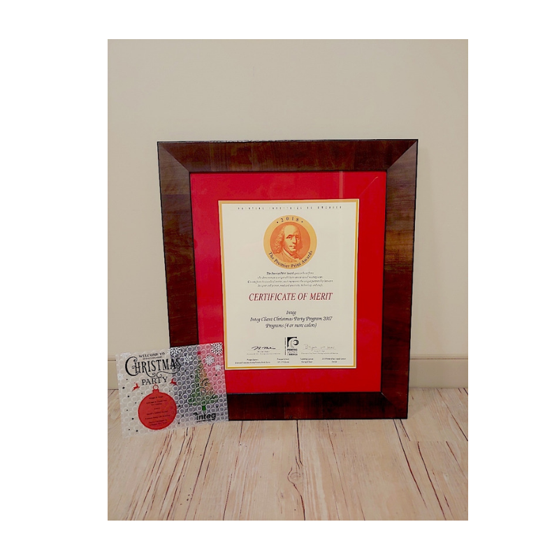 Premier Print Award